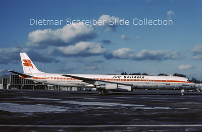 1980-02 TF-FLE Douglas DC8-63F (c/n 46042) Air Bahama