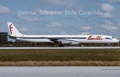 2002-02 N441J Douglas DC8-63CF (c/n 45988) Fine Air