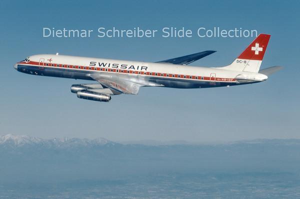 1967-12 HB-IDF Douglas DC8-62 (c/n 45920) Swissair