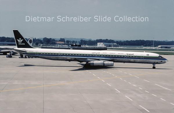 1981-08 TF-FLC Douglas DC8-63CF (c/n 46088) Saudia
