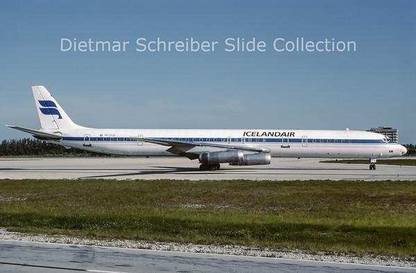 1987-06 TF-FLE Douglas DC8-63F (c/n 46042) Icelandair