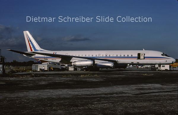 1988-12 N8974U Douglas DC8-62H (c/n 46110)