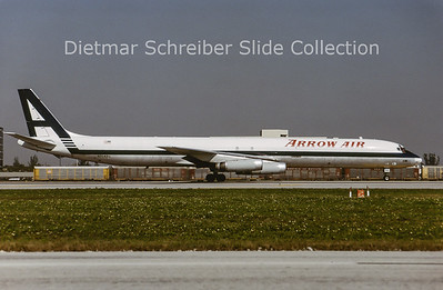 1991-04 N7043U Douglas DC8-63F (c/n 46042) Arrow Air