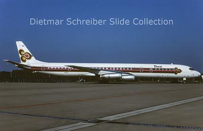 1984-05 HS-TGY Douglas DC8-63 (c/n 46054) Thai Airways