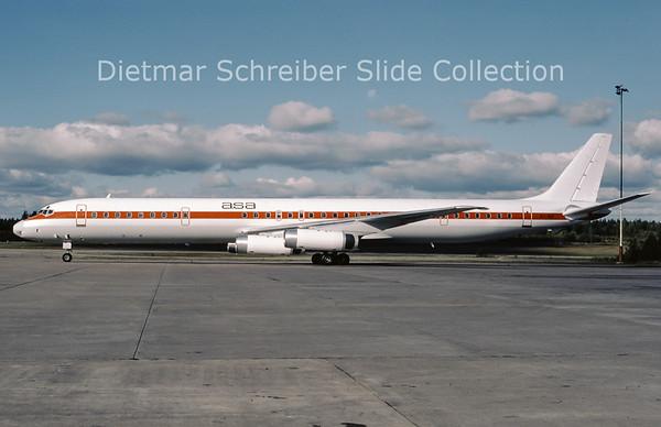 1987-09 S7-SIS Douglas DC8-63 (c/n 46141) African Safari