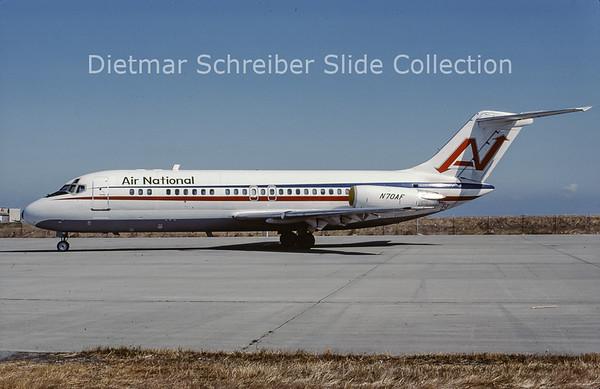 1983-08 N70AF Douglas DC9-15RC (c/n 47014) Air National