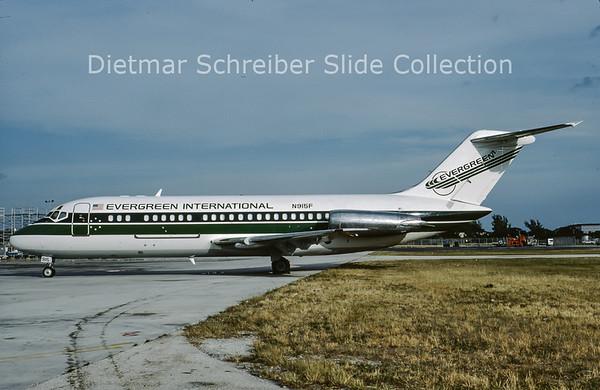 1988-12 N915F Douglas DC9-15MC (c/n 47061) Evergreen