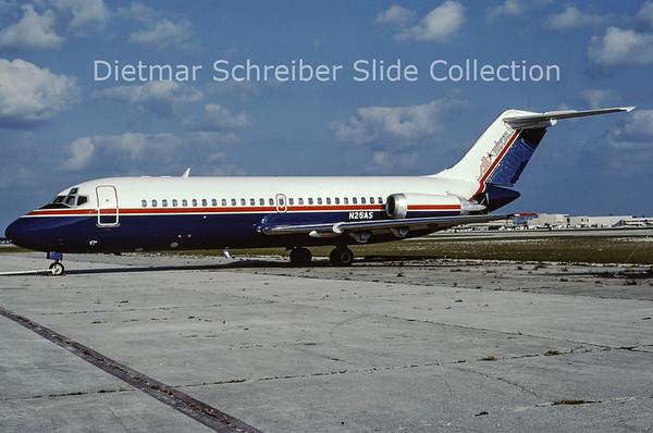 1984-12 N25AS Douglas DC9-14 (c/n 45725) All Star