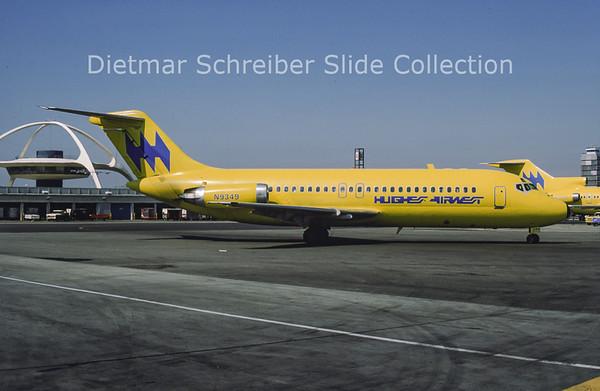 1977-08 N9349 Douglas DC9-15RC (c/n 47016) Hughes Airwest