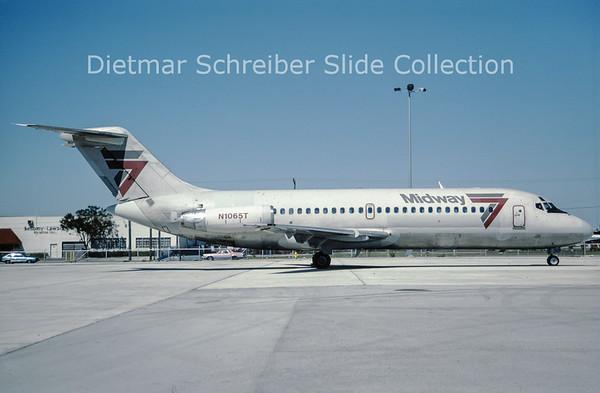 1987-04 N1065T Douglas DC9-15 (c/n 45779) Midway