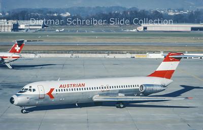 1978-12 OE-LDG Douglas DC9-32 (c/n 47484) Austrian Airlines