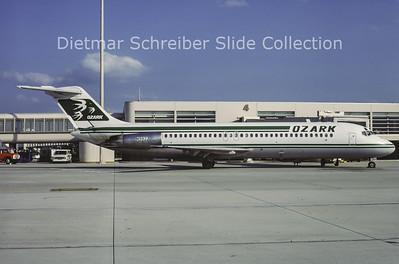 1984-05 N992Z Douglas DC9-31 (c/n 47095) Ozark Airlines