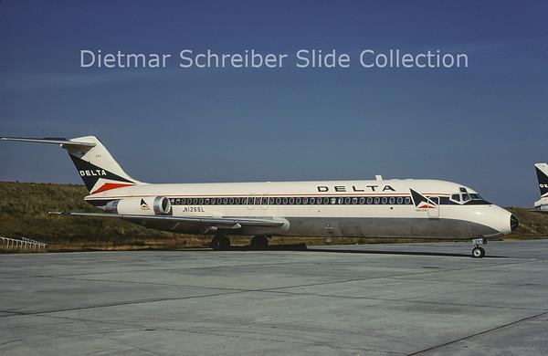 1981-10 N1265L Douglas DC9-32 (c/n 47260) Delta Airlines