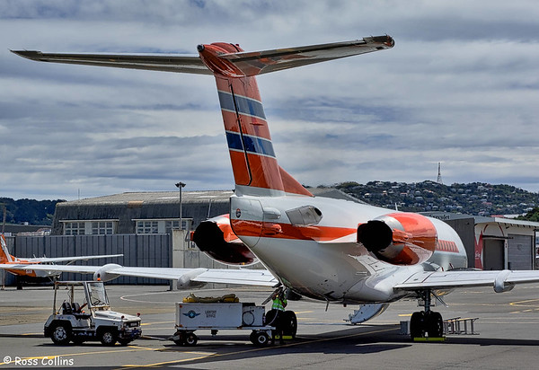 Netherlands Fokker 70 in Wellington 2016