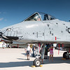 A-10 Warthog of the Blacksnakes Squadron