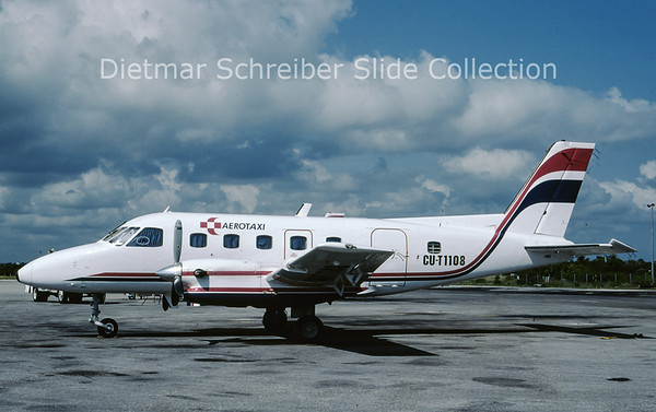 CU-T1108 Embraer Emb110 (c/n 110091) Aerotaxi
