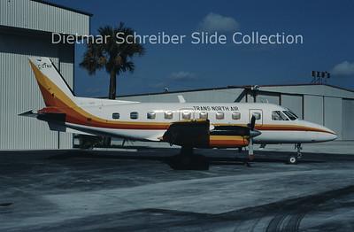 1986-11 C-GTNV Embraer Emb110 (c/n 110329) Trans North Air