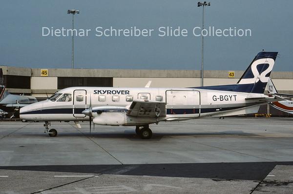 1989-08 G-BGYT Embraer Emb110P1 (c/n 110234) Skyrover