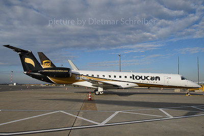 2017-12-13 F-HAFS Embraer 145 Toucan Aviation