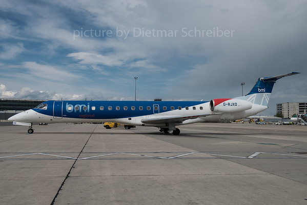 2016-05-16 G-RJXD Embraer 145 BMI Regional