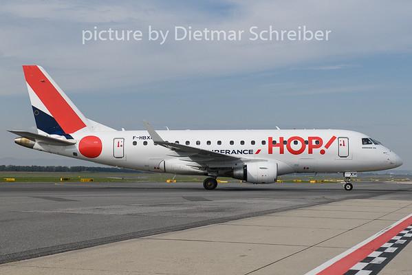 2020-10-10 F-HBXH Embraer 170 Hop