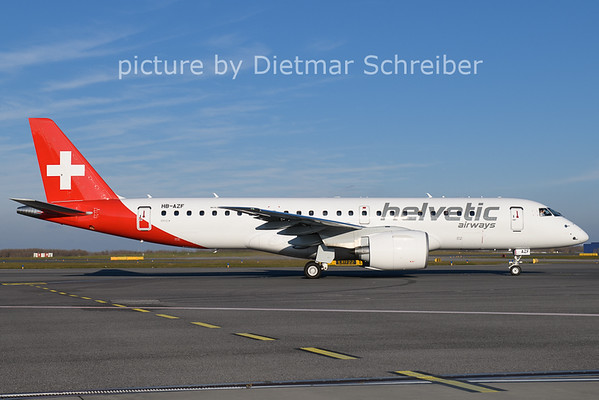 2020-11-21 HB-AZF Embraer 196E2 Helvetic