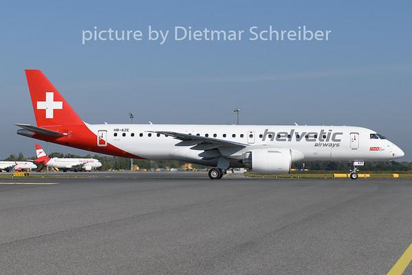 2020-09-15 HB-AZE Embraer 195E2 Helvetic