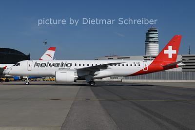 2021-06-01 HB-AZH Embraer 190E2 Helvetic