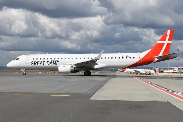 2021-03-22 OY-GDA Embraer 195 Great Dane Airways