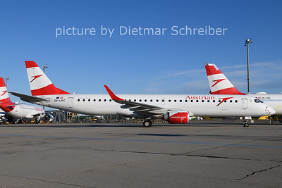2021-05-21 OE-LWC Embraer 195 Austrian AIrlines