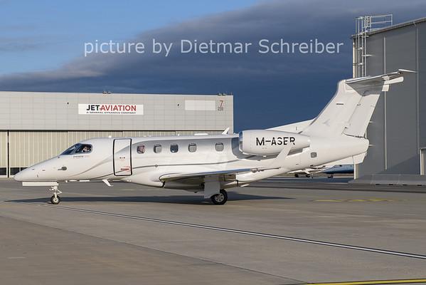 2020-12-27 M-ASER Embraer 505