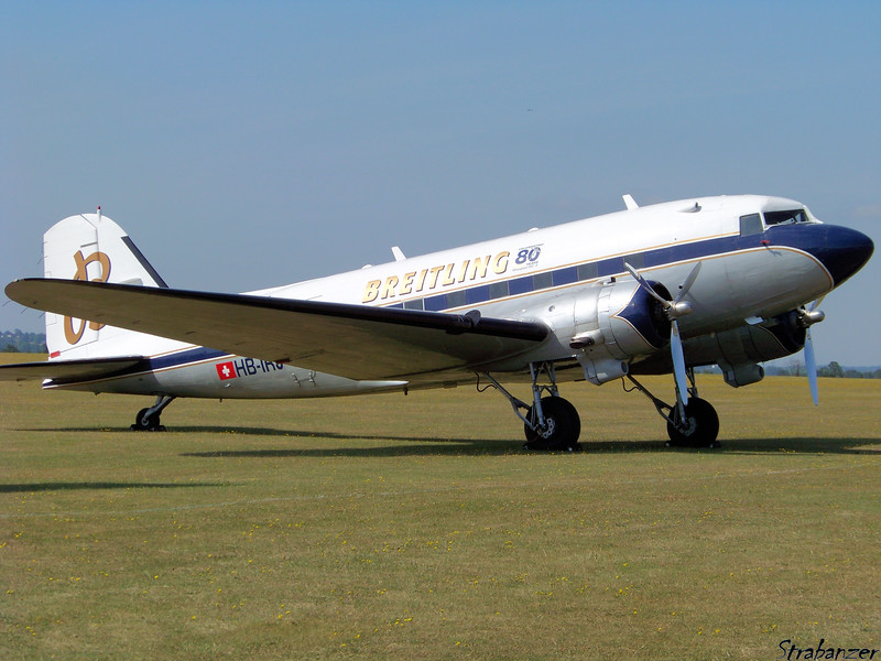DC3A-S4C4G  HB-IRJ<br /> Duxford, UK, 07/11/2015<br /> This work is licensed under a Creative Commons Attribution-<br /> NonCommercial 4.0 International License