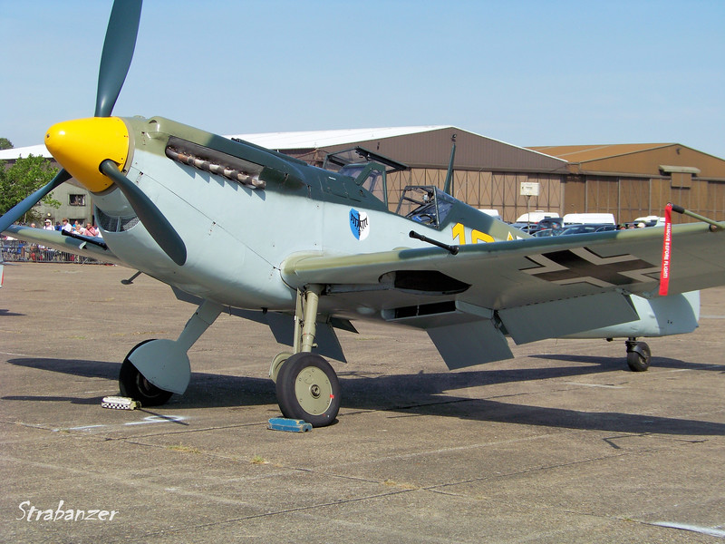 Hispano HA-1112-M1L Buchon, C/N: 172  G-AWHK<br /> <br /> Duxford, UK, 07/11/2015<br /> This work is licensed under a Creative Commons Attribution-<br /> NonCommercial 4.0 International License
