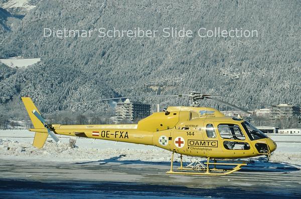OE-FXA Aerospatiale AS355F2 (c/n 5056) Heli Air