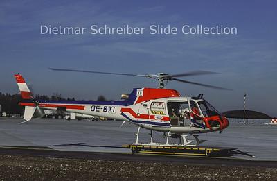 1988-01 OE-BXI Aerospatiale AS350B1 (c/n 1899) Austrian Police