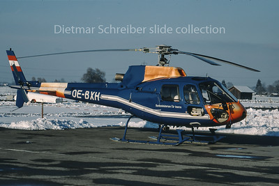 1999-11 OE-BXH Eurocopter AS350 Austrian Police