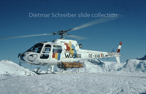 OE-XHB Eurocopter AS350 Wucher Helicopter
