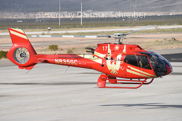 2015-02-06 N835GC Eurocopter 130 Grand Canyon Helicopter