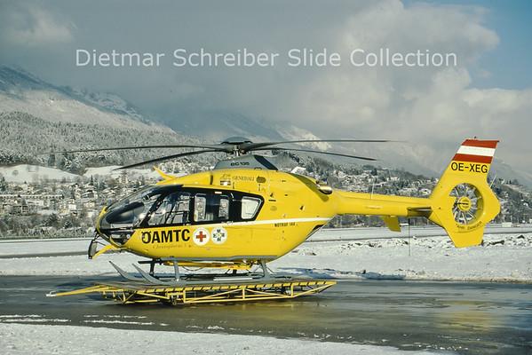 1999-12-21 OE-XEG Eurocopter EC135 (c/n 0128) Heli Air