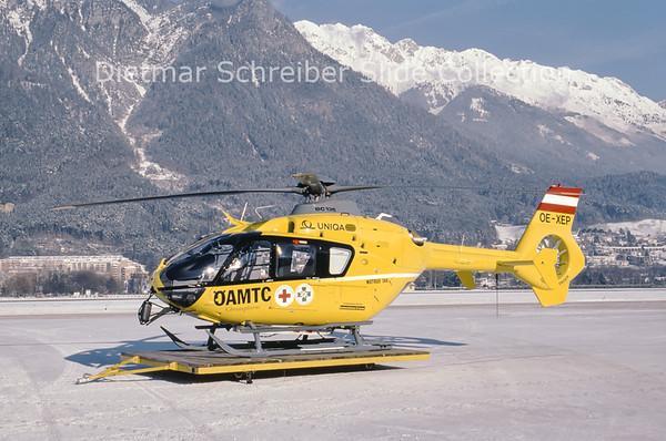 2001-12-12 OE-XEP Eurocopter EC135 Heli Air