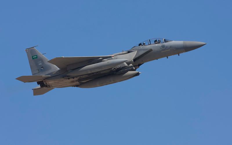 Royal Saudi Air Force F-15