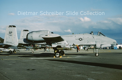1994-06 81-0962 Fairchild A10 Thunderbolt (c/n A10-0657) United States Air Force