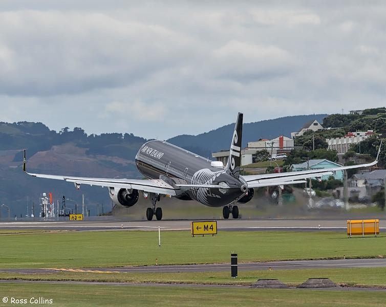 A321-271NX, ZK-NNA at Wellington, 24 December 2018