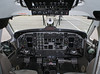 The flightdeck of a Wasaya Beech 1900D.