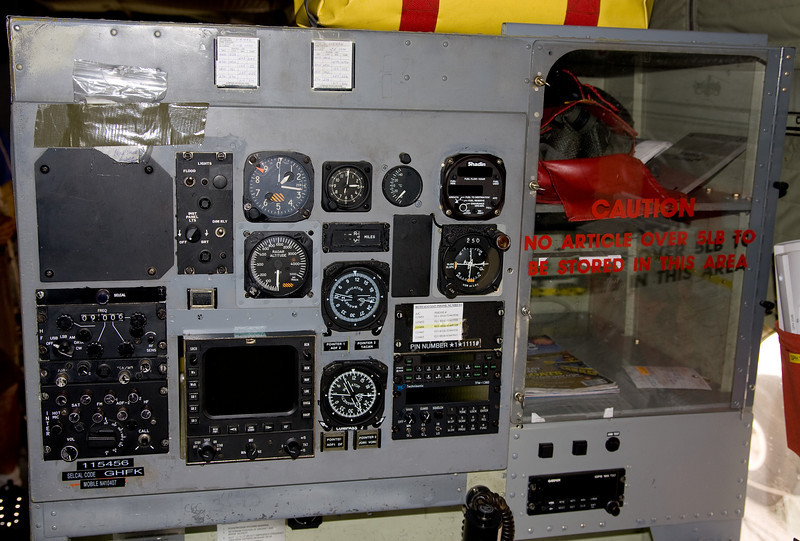 Navigators panel from a De Havilland Canada CC-115 Buffalo (DHC-5D) (SN 10).
