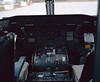 Flight deck of a Dehavilland DHC-8-102 owned by Air Creebec. Photo taken with a Fuji GW670II but no metering took place so the image is a couple stops too dark ( I had guessed at the camera settings).