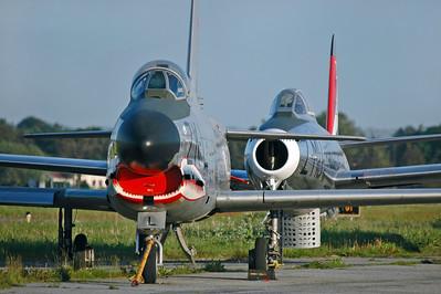 "NA F-86K Sabre ""ZK-L"""