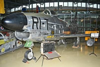 """N. A. F-86K Sabre """"RI-T"""""""