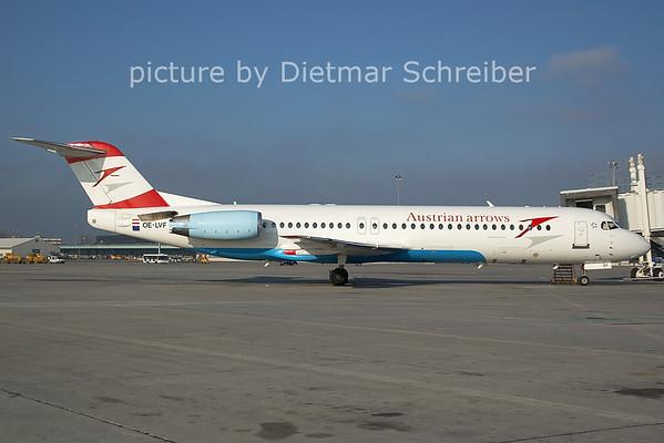 2006-12-06 OE-LVF Fokker 100 Austrian Arrows