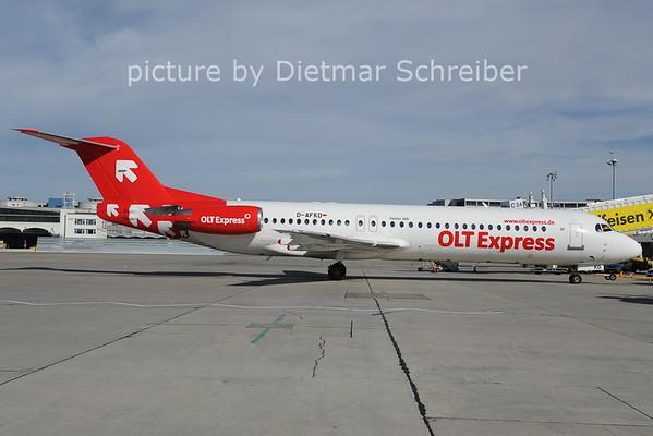 2012-10-17 D-AFKD Fokker 100 OLT Express